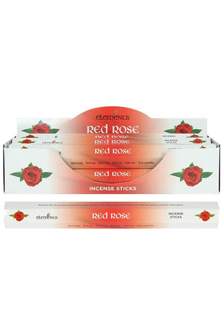Elements Red Rose Incense Sticks | Angel Clothing