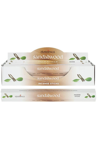Elements Sandalwood Incense Sticks | Angel Clothing