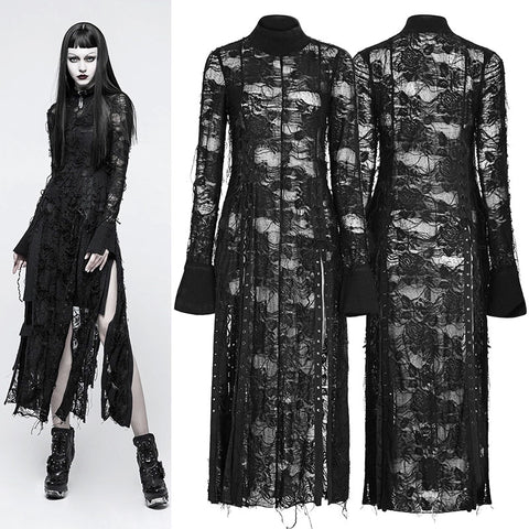 Punk Rave Mater Tenebrarum Cardigan Dress | Angel Clothing