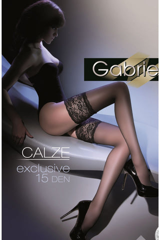 Gabriella Calze Exclusive 201 Hold Ups Nero | Angel Clothing