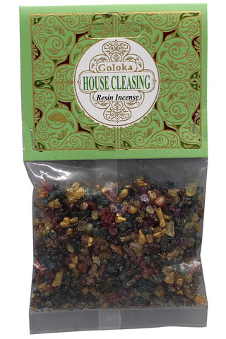 Goloka House Cleansing Resin Incense | Angel Clothing