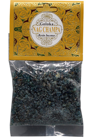 Goloka Nag Champa Resin Incense | Angel Clothing