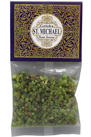 Goloka St. Michael Mix Resin Incense | Angel Clothing