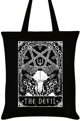 Deadly Tarot The Devil Tote Bag | Angel Clothing