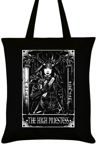 Deadly Tarot The High Priestess Tote Bag | Angel Clothing