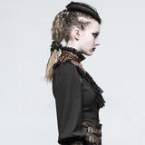 Adora Steampunk Choker and Brooch | Angel Clothing