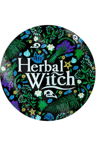 Herbal Witch Glass Chopping Board | Angel Clothing