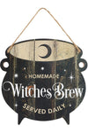 Witches Brew Cauldron Sign | Angel Clothing