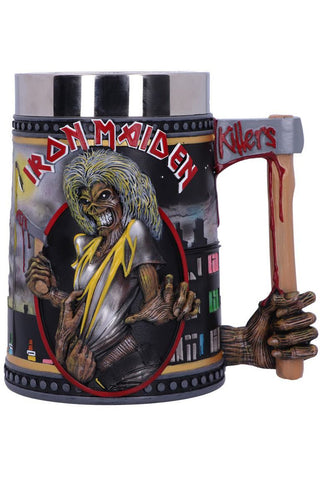 PRE-ORDER Iron Maiden The Killers Tankard | Angel Clothing
