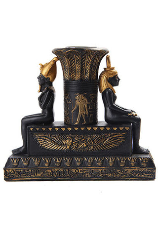 Isis and Osiris Candle Holder | Angel Clothing