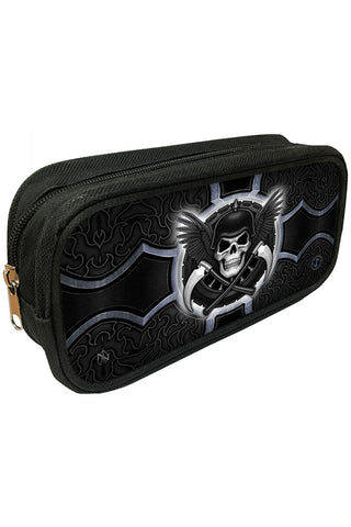 James Ryman Biker 3D Pencil Case | Angel Clothing