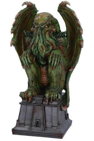 James Ryman Green Cthulhu Figurine | Angel Clothing