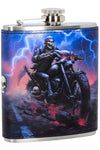 Jame Ryman Hell on the Highway Hip Flask | Angel Clothing