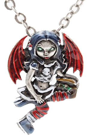 Jasmine Becket Pirate Fairy Necklace | Angel Clothing