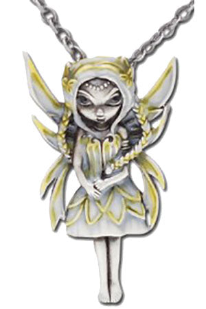 Jasmine Becket Silver and Gold Fairy Necklace | Angel Clothing