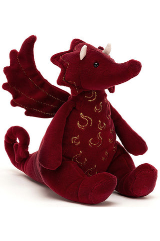 Jellycat Ruby Dragon | Angel Clothing