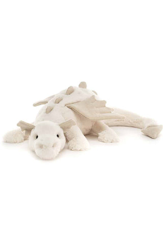 Jellycat Snow Dragon 26cm | Angel Clothing