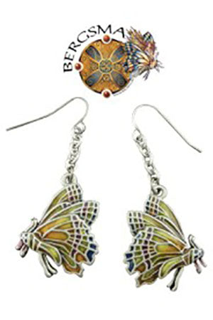 Jody Bergsma Chrysalis Butterfly Earrings | Angel Clothing