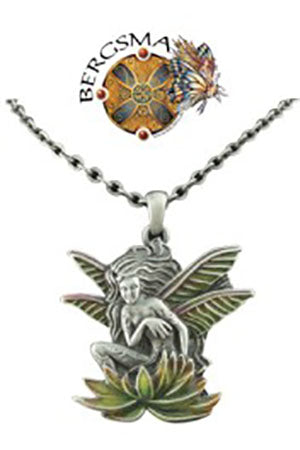 Jody Bergsma Wild Magic Dragonfly Fairy Necklace | Angel Clothing