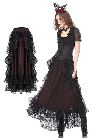 Dark in Love Gothica Skirt | Angel Clothing