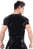 LATE-X Mens Latex Shirt | Angel Clothing