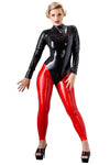 LATE-X Red Latex Leggings | Angel Clothing