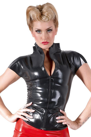 LATE-X Latex Shirt | Angel Clothing