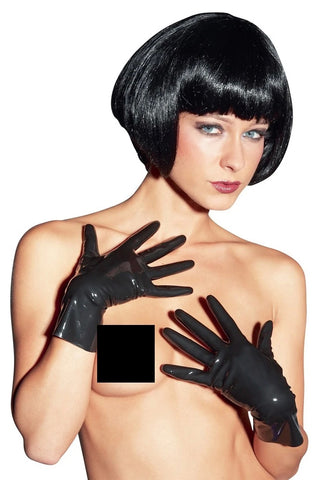 LATE-X Short Latex Gloves | Angel Clothing