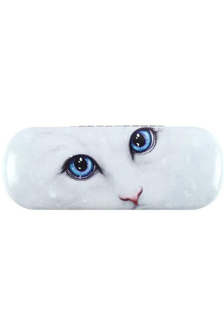Linda Jones Winter Cat Glasses Case | Angel Clothing