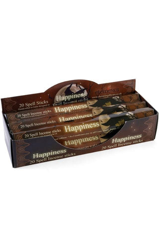Lisa Parker Happiness Spell Incense Sticks | Angel Clothing