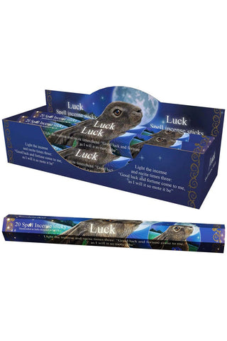 Lisa Parker Luck Spell Sandalwood Incense Sticks | Angel Clothing