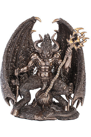 Lucifer Bronzed Figurine | Angel Clothing