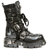 New Rock Flame Boots with Demon Skull M.107-S2 | Angel Clothing