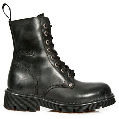 New Rock Combat Boots M-NEWMILI084-S1 | Angel Clothing