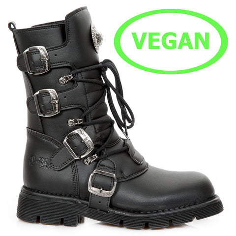New Rock Vegan Comfort Sole Boots M.1473-V1 | Angel Clothing