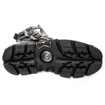 New Rock Black Wild Reactor Boots M.391X-S1 | Angel Clothing