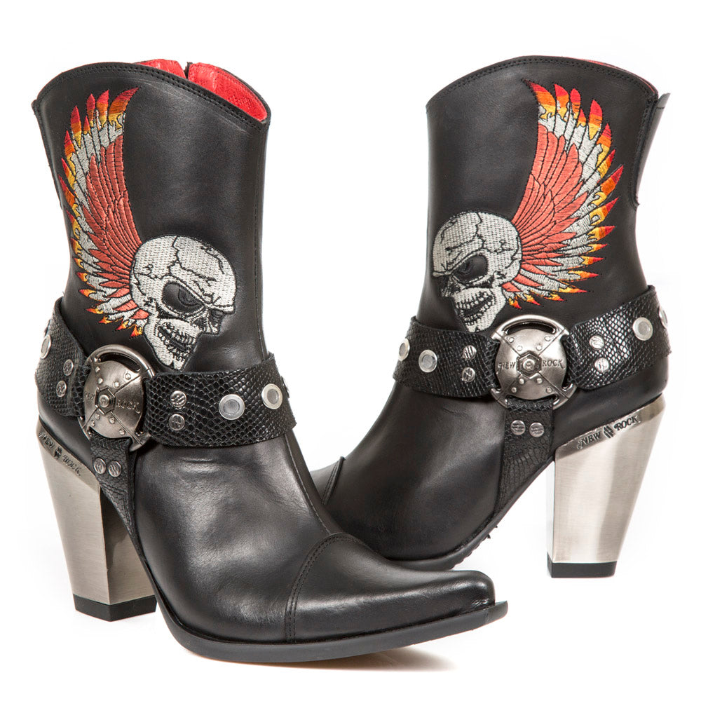 New Rock Ladies Cowboy Boots with
