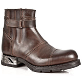 New Rock Brown Motorock Boots M.MR013-S2 | Angel Clothing