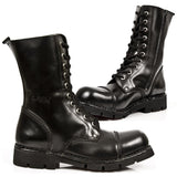 New Rock Military Combat Boots M.NEWMILI10-S1 | Angel Clothing