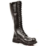 New Rock Military Laced Boots M.NEWMILI19-S1 | Angel Clothing