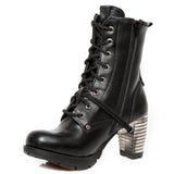 New Rock Vegan Ankle Boots M.TR001-VS56 | Angel Clothing