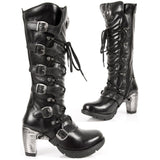 New Rock Ladies Tall Boots M.TR004-S1 | Angel Clothing