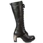 New Rock Tall Laced Ladies Boots M.TR005-S1 | Angel Clothing