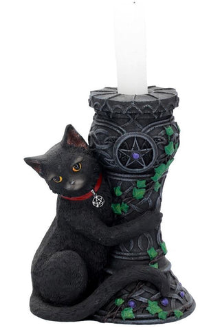 Midnight Cat Candle Holder | Angel Clothing