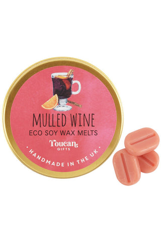 Toucan Gifts Mulled Wine Soy Wax Melts | Angel Clothing