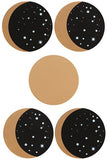 Moon Phases 5-Piece Coaster Set | Angel Clothing