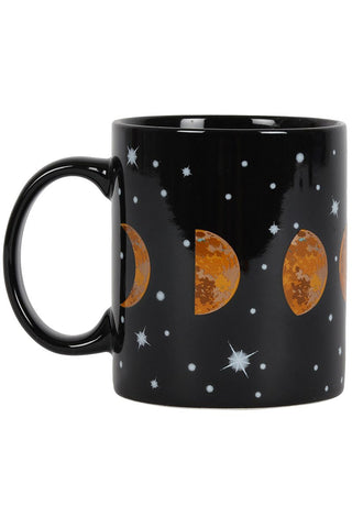 Moon Phases Ceramic Mug | Angel Clothing