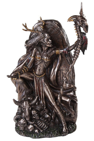 Morgan le Fay Bronzed Figurine | Angel Clothing