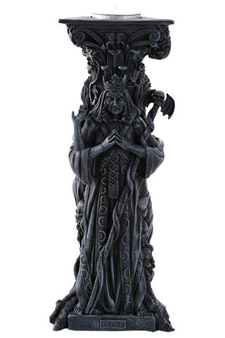 Mother Maiden Crone Candle Holder Black | Angel Clothing
