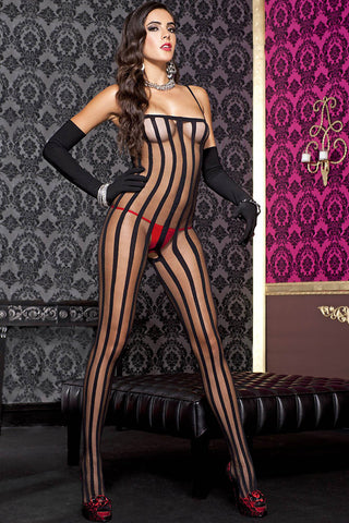 Music Legs Bodystocking 1567 | Angel Clothing